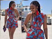 new African print dresses 2018