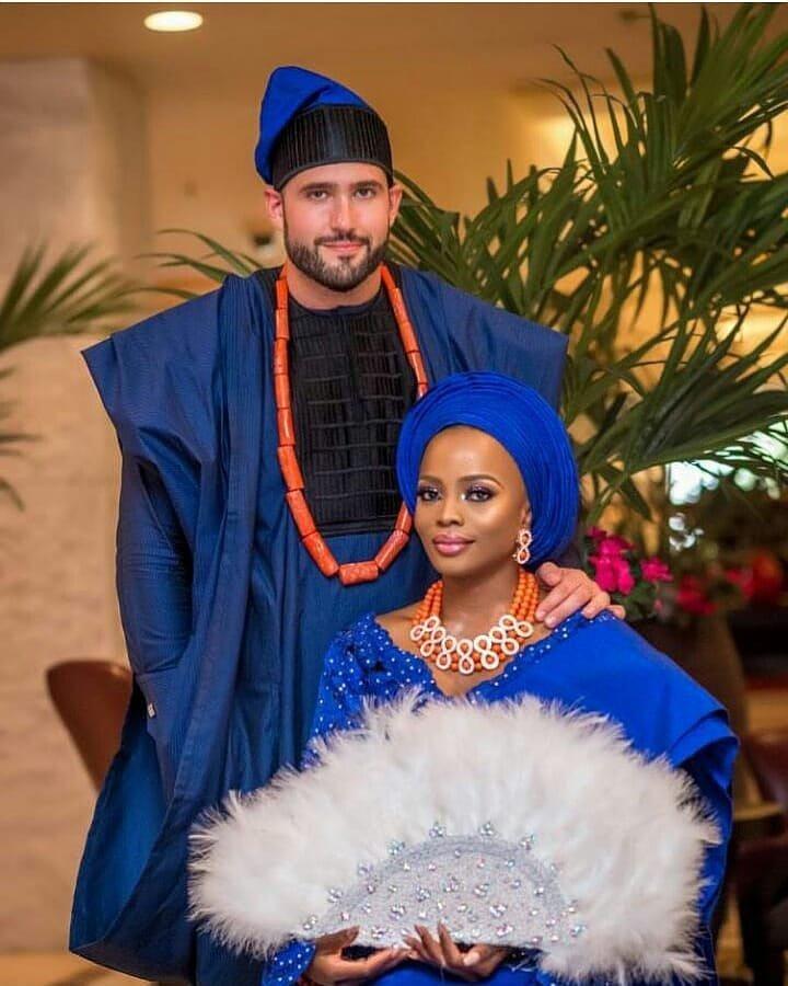 African attires wedding