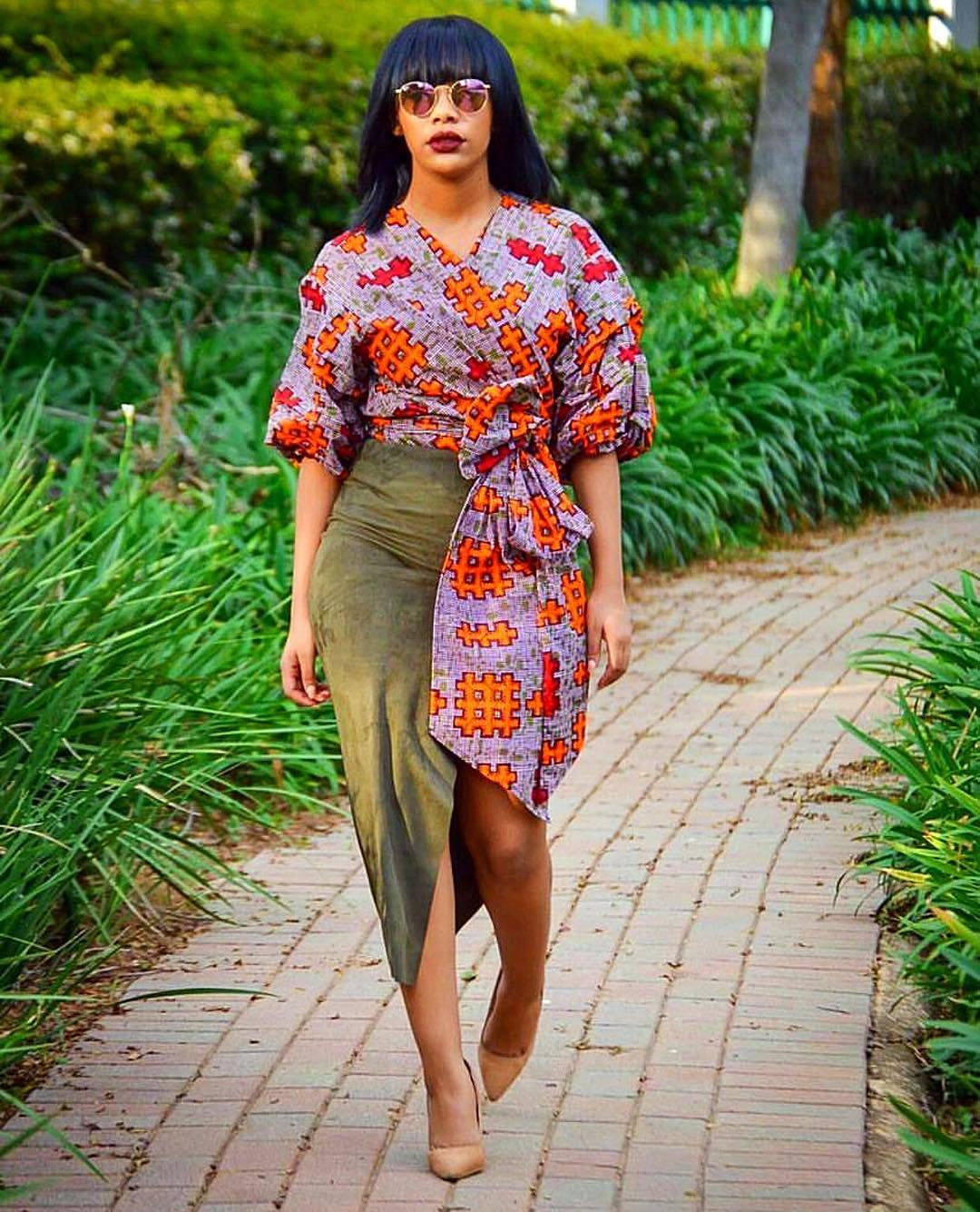 Petite African fabric 2019