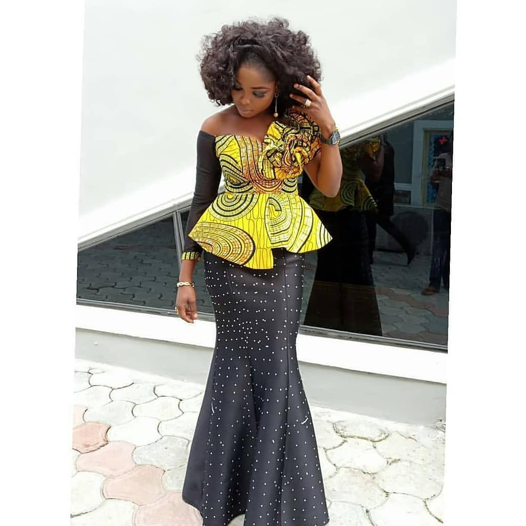 latest modern african dresses and dress styles 2019
