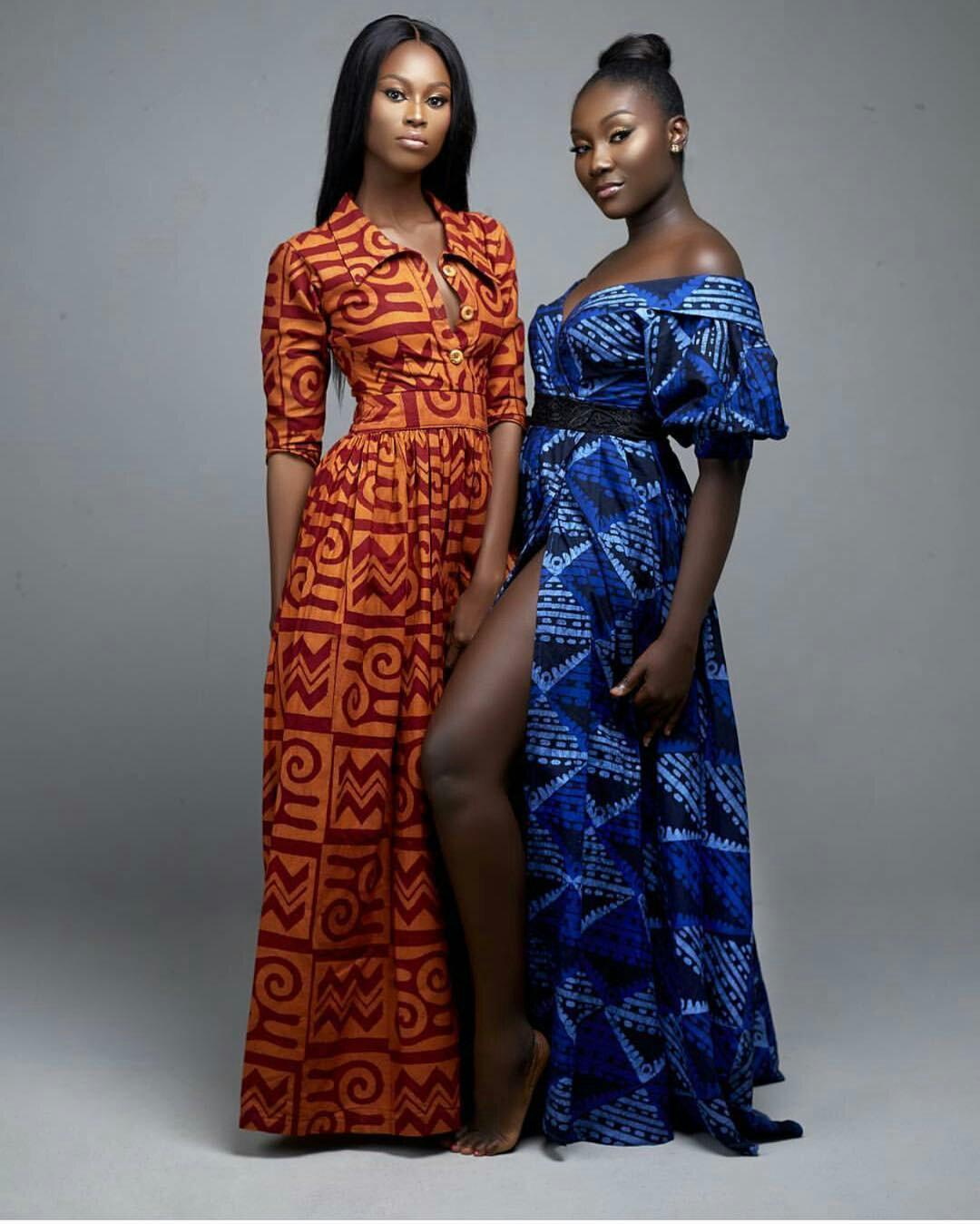 trendy african ankara print dresses pictures 2019
